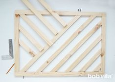 Make a Modern DIY Baby Gate (a photo tutorial - Future house :) - Diy Baby Gate, Baby Gates, Puppy Gates, Kids Gate, Stair Gate, Pet Gate, Gate Design, Baby Safety, Dog Crate
