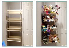 Big Girl Rooms, Baby Boy Rooms, Baby Room, Stuffed Animal Storage, Kids Room Organization, Princess Room, Piece A Vivre, Baby Kind, Toy Storage