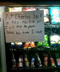 Cheetos!!!!!