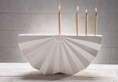 Studio Armadillo | Hanukkah Menorah design