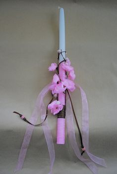 Floral Collection Easter Candle Lampada Labada by LimaniDesigns, $15.00
