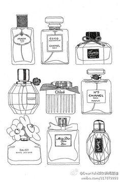 """誰とも被らない""""かわいい""""を目指すなら香水瓶ネイルはいかが♡?の画像"""