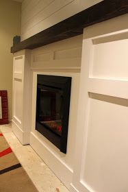 The Impatient Remodelers: Basement Fireplace Facelift