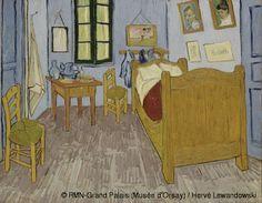 Vincent van Gogh ,Van Gogh's Bedroom in Arles,© RMN-Grand Palais (Musée d'Orsay) / Hervé Lewandowski