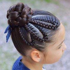 Hairstyles 28 Amazing Braids Models and Hairstyles for Girls We chose amazing braids and hairstyles for your girl. Your daughter will be very happy when you apply one or more of. Cool Hairstyles For Girls, Baby Girl Hairstyles, Elegant Hairstyles, Cool Braids, Braids For Long Hair, Amazing Braids, Tree Braids Hairstyles, Braided Hairstyles, Bob Hairstyles