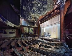 abandoned theater, oh the stories it could tell