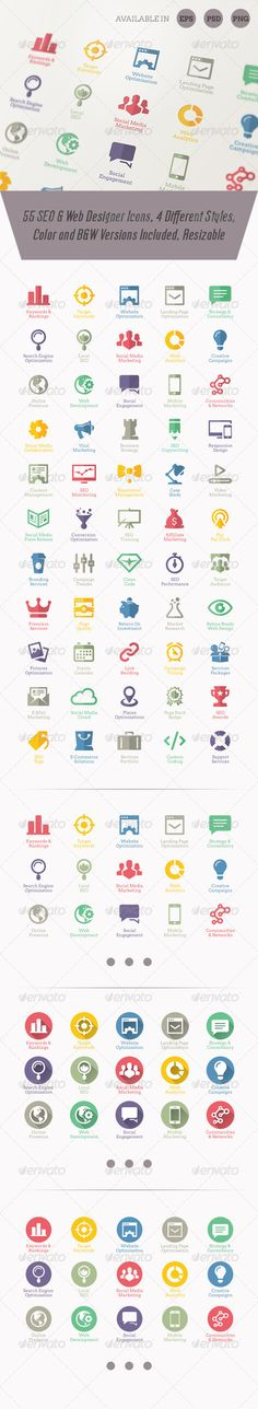 Modern SEO Services Icons | Buy and Download: http://graphicriver.net/item/modern-seo-services-icons/3000523?ref=ksioks