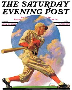 Baseball Batter (J.F. Kernan May 28, 1932)