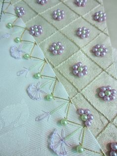 Simple but elegant beadwork