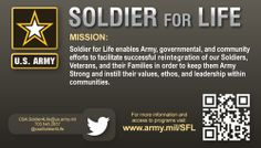 Soldier for Life Info Card