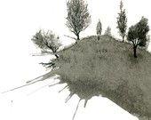 ink drawing by Matt Leavitt