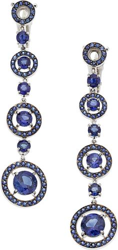 Estate Jewelry:Earrings, Sapphire, White Gold Earrings, Boucheron The e... Image #1