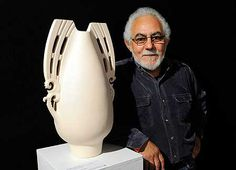 Manos Nathanis a New Zealand ceramicist ofTe Roroa,Ngāti WhātuaandNgāpuhidescent on his father's side and Greek descent on his mother's. He was born inRawenein 1948. He completed a Diploma of Textile Design at Wellington Polytechnic School of Design in 1968–70