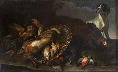 Ян Фейт (1611-1661), «Натюрморт. Дичь»