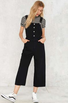 Cheap Monday Later Denim Overalls   Shop Clothes at Nasty Gal!
