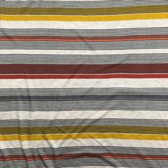 4be061fa72d Rayon/Spandex Knit - Multi Stripe Sewing Class, Fashion Fabric, Bay Area,