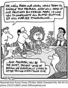 Funny 2005 corporate culture  cartoon, December 15, 2005