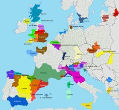 Mapa de las regiones separatistas de Europa – RT