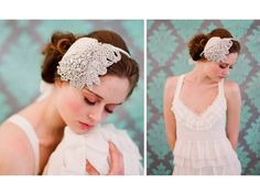Ethereal Bridal Veils, Headbands and Accessories from Twigs and Honey