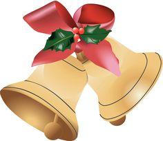 Christmas Bell Clipart, Xmas Bell Clip Art, Christmas Bells Graphic - The Printable Holiday Christmas Gift Clip Art, Christmas Gift Ribbon, Christmas Tree Clipart, Christmas Border, Christmas Flowers, Christmas Images, Free Holiday Clipart, Christian Christmas, Nutcracker Christmas