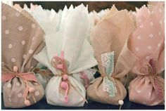 Bonbonieries Baptism Favors, Wedding Favours, Party Favors, Christening Themes, Christening Party, Paper Roll Crafts, Diy And Crafts, Baby Girl Baptism, Fairy Birthday Party