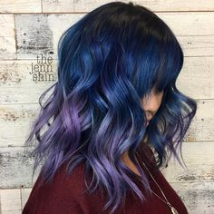 @thejennshin and @caraisacat are the artists... Pulp Riot is the paint. #pulpriothair #hair #haircolor #hairstyle #beauty