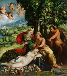 Dosso Dossi - A Mythological Scene [c.1524]