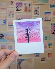 """""""Paintbrush Polaroids"""" a gorgeous series of watercolor paintings by Which one is your favorite? _______________________ No… Paintbrush Polaroids a gorgeous series of watercolor paintings by Which one is your favorite? Cute Canvas Paintings, Small Canvas Art, Mini Canvas Art, Painting Canvas, Spray Painting, Watercolor Canvas, Watercolour Painting, Painting & Drawing, Watercolor Sunset"""