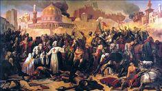 Gebeurtenis: DE KRUISTOCHTEN waren militaire expedities om het Heilige land te bevrijden van de moslims. De Kruistochten waren tussen 1096 en 1099 na Christus. Door de Kruistochten werd er steeds meer gehandeld met het Midden-Oosten. Met name de handel in specerijen groeit sterk.