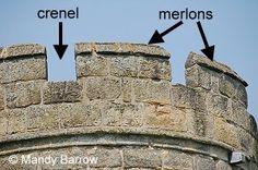 Castle Defences - Facts about Castles for kids Medieval World, Medieval Times, Medieval Castle, Facts About Castles, World History, Art History, Castles Topic, Castle Parts, Castles In Wales