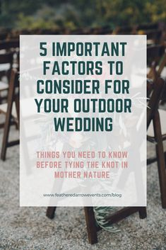 Rustic Country Weddings How to plan a memorable outdoor wedding with these 5 crucial planning tips! - If you are getting hitched in the great outdoors, you have to see these five things you should think about when planning an outdoor wedding! Wedding Day Tips, Star Wedding, The Wedding Date, Wedding Advice, Plan Your Wedding, Diy Wedding, Golf Wedding, Wedding Hacks, Quirky Wedding