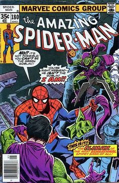 Amazing Spider-Man # 180 by Ross Andru & Mike Esposito