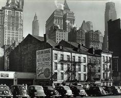 New York Late 1930's Berenice Abbott