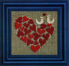 Heart of Hearts (counted cross stitch kit) Designer/Artist: Bent Creek