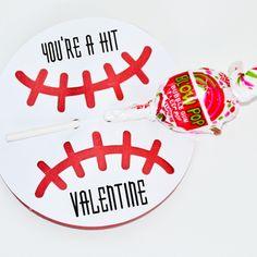 baseball valentines - Google Search