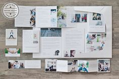 Portrait Welcome Packet: Modern Minimalist Edition from Design Aglow