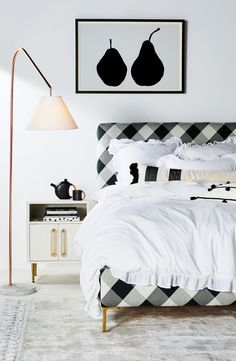 Buffalo Check Edlyn Bed #Anthrobed