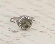 Real Butterfly Wing Silver Adjustable Ring The by BugUnderGlass, $24.00