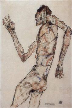 Egon Schiele · Autoritratto · 1912 · Leopold Museum · Wien