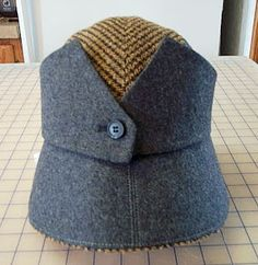 How a Vest Beomes a Hat. #judithm #millinery #hats