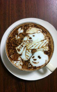Bears Latte Art