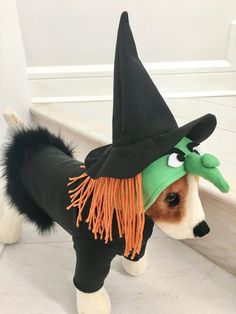 Witch costume- Halloween costume- Dog witch costume This costume is unique and good for photo shoots, Halloween parties, costume contest, etc. The fleece is very soft and great gift for animal lovers. Great Halloween Costumes, Scary Costumes, Cute Costumes, Dog Costumes, Halloween Parties, Costume Ideas, Pet Fashion, Animal Fashion, Bichon Dog