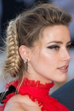 É tendência: penteado de festa com tranças - Claudia Basso