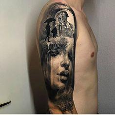 Artists IG: @jakconnollyart -------------------------------------- #tattoo #tattoos #tat #ink #inked #tattooed #tattoist #coverup #art #design #instaart #instagood #sleevetattoo #model #inked #love #happy #tattooedgirls #tumblr #instagram #tattoolife