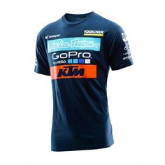 T-Shirt Troy Lee Designs Team KTM GoPro Navy 2016