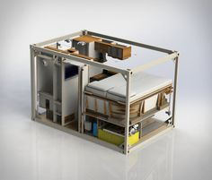 Bliss Mobil is a new concept for expedition vehicles, an innovative container-style all-in-one box, designed to fit all types of truck. Rather than the costly customising of each individual vehicle, the company has introduced five uniformed models to Off Road Trailer, Off Road Camper, Truck Camper, Camper Trailers, Camper Van, Pickup Camper, Mini Camper, Rv Campers, Auto Camping