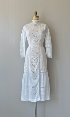Spirit Lake dress antique Edwardian dress 1910s by DearGolden