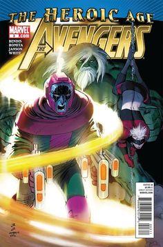Avengers Vol. 4 # 3 by John Romita Jr. & Klaus Janson
