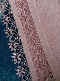 Most Beautiful Needlework Embroidered Models Crochet Borders, Crochet Motif, Knit Crochet, Baby Knitting Patterns, Crochet Patterns, Hairpin Lace Crochet, Hand Embroidery Dress, Point Lace, Needle Lace