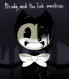Bendy and the Ink machine by RosePinkFah